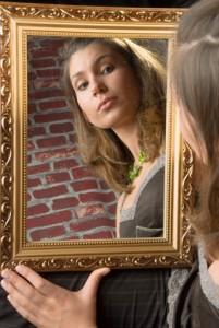 Selten stimmen Spiegelbild und Selbstbild überein