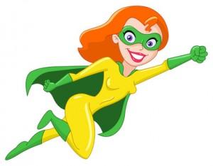 Man muss kein Supergirl sein, um stark zu sein